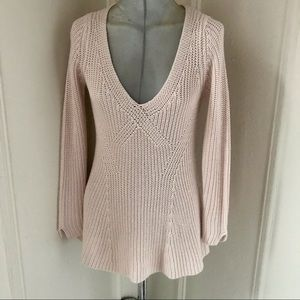 Zara knit fitted sweater chunky Size S
